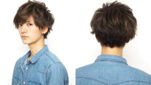 20代メンズカジュアルヘアー